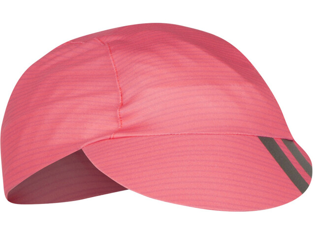 PEARL iZUMi Transfer Casquette de cyclisme, torch red stripe
